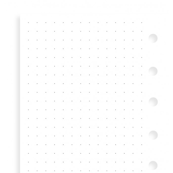 Dotted Journal Vulling
